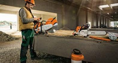 Doorslijpers en betonzagen